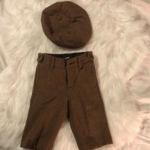 Wool pant and matching Hat